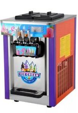 ICE CREAM MACHINE - SOFT WHIPPY - BRAND NEW  - TRIPLE HEAD -TWO FLAVOUR