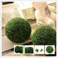 50cm Artificial Green Grass Ball Plant Topiary Hanging Home Garden Decoration