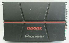 Pioneer 2-Channel Bridgeable Amplifier With 1000 Watts Vehicle Car Audio AMP