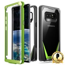 Poetic Samsung Galaxy Note 8 Case[Guardian Series] Shockproof Rugged Cover Green