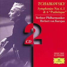 TCHAIKOVSKY SYMPHONIES NOS 456 2 CD CLASSICAL MUSIC NEW SET