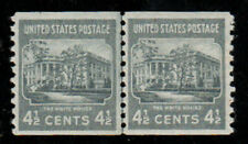 Doyman's Stamps Unused #844 4 1/2c White House XF NH OG  Prexie