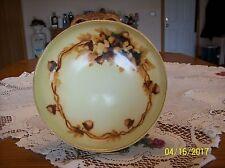 Tressemann & Vogt (T&V) Limoges Fall Acorn Motif Footed Center Piece Bowl