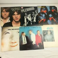 Lot of 6 Power Pop Vinyl LPS Pezband Dwight Twilley Nils Lofgren Dumptruck VG+