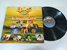 "Epic 3 Disco de Oro Coz The Police Miguel Bose Pecos - LP Vinilo 12"" VG/VG"