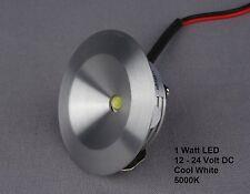 Mini Spotlight Down light LED Fixture (12 to 24 VDC) - 1 Watt White LED Down lig