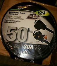 Power Zone ORV30930 50' RV CORD 10/3 NEW