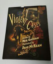 *New* Violent Cases by Neil Gaiman & Dave McKean Hardcover Hc Dark Horse Comics