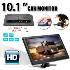 "10.1"" Inch TV Car Rear View TFT LCD Monitor AV/VGA/HDMI Video Remote Control"