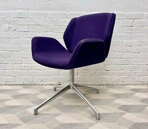 Purple Swivel Kruze Chair by Boss Design