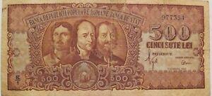 """ROMANIA Popular Republic  """"500 lei 1949 / Horea, Closca and Crisan"""" / quite rare"""