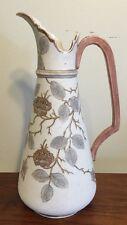 "Antique Royal Rudolstadt Ewer Vase 11 3:4"" Tapestry Finish Really Nice!"