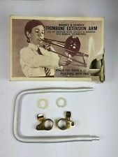 More details for vintage boosey & hawkes trombone extension arm with fixings - medium bore