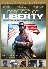 "NEW ""For Love of Liberty"" Story of America's Black Soldiers - rare Brand NEW"