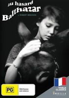 Au Hasard Balthazar (DVD) Robert Bresson's Masterpiece NEW/SEALED