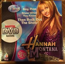 Disney Hanna Montana (Miley Cyrus) Mattel DVD Game