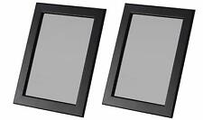 """Ikea Picture Frames 5x7"""" in Black- Hang or Stand Fiskbo Set of 2"""