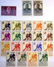 FRENCH WEST AFRICA 1944 - 1959 1-103 Block 1 complete COLLECTION Sammlung MLH