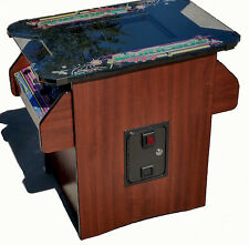 cocktail arcade game with 60 games 10yr warranty, trackball and 2 stools