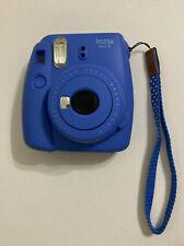 Fujifilm Instax Mini 9 Instant Film Print Polaroid Camera - Cobalt Blue, Broken