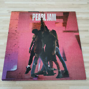 PEARL JAM - TEN - VINYL  LP - ORIGINAL 1991 PRESSING WITH INNER SLEEVE