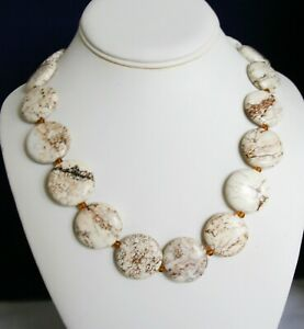 Classic White Turquoise Necklace