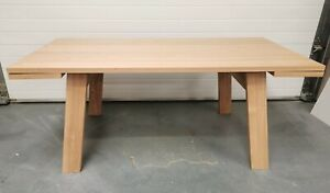 Made.com Cortez 6-10 Seat Extending Dining Table In Ash RPR £599