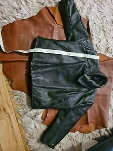 Scott Leather Jacket, for Baby
