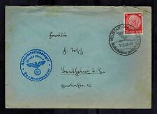 1940 Germany Gross Rosen Concentration Camp Commandant Cover Waffen SS KZ