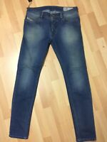 Mens Diesel SLEENKER STRETCH Denim 0681N BLUE Slim W32 L32 H6 RRP£150