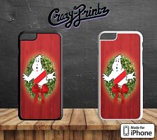 Ghostbusters Cool Christmas Wreath Hard Case Cover for all iPhone Models V16