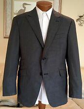 Modern NEW Hickey Freeman Gray Loro Piana 150's Wool Custom Blazer Sz 40 42 R