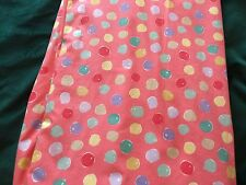 "Vintage Laura Ashley Curtains  72"" W x 52"" L - Dotty"