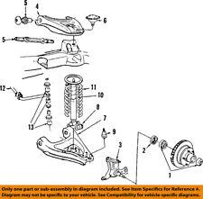 GM OEM Stabilizer Sway Bar-Rear 10029113