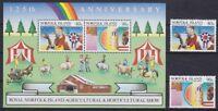 Norfolk Block 8 u. 371 - 372 **, Landwirtschaft, postfrisch MNH