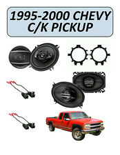 Fits Chevy CK Pickup 1995-2000 Factory Speaker Upgrade Combo Kit, PIONEER