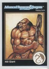 1992 TSR Advanced Dungeons & Dragons #129 D&D 2nd Edition Hill Giant Card 0l5