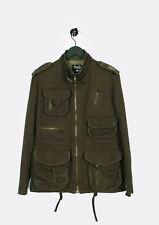 Original Dolce&gabbana D&g Militär Khaki Herren Jacke in Größe 46/32