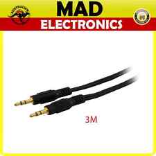 3 meters Aux Lead Cable Stereo 3.5mm Plug to Stereo 3.5mm Stereo Plug