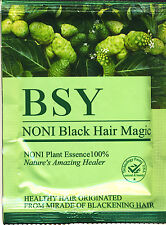 Organic Natural Hair Dye (Black) Covers Grey Hairs (No para-phenylenediamine !)