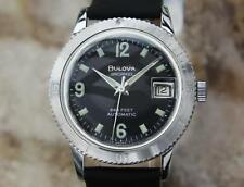 Bulova Snorkel 666 Swiss Made 35mm Automatic 1970s Men's Vintage Watch LV80