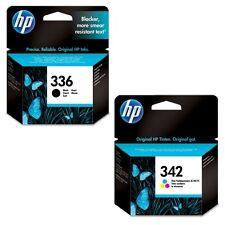 Geniuine HP 336 Black & 342 Colour Ink Cartridges C9362EE/C9361EE Original C4100
