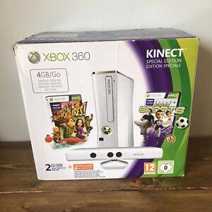EMPTY BOX Xbox 360 S (Slim) Console 4GB, White S.E + Kinect - **EMPTY BOX ONLY**