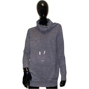 ANNETTE GÖRTZ Pullover Oberteil Strickpullover Damen Feinstrick Grau Gr XL 42