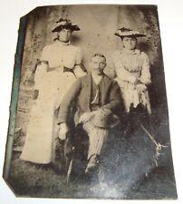 ONE Vintage ORIGINAL 1860's Civil War Era Tintype Photo Photograph SEE IMAGE d