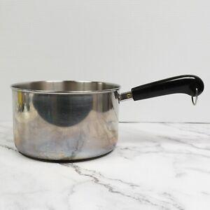 Vintage Revere Ware 4Qt Sauce Pan Pot Clinton IL USA