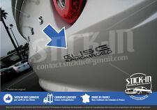 Lotus Elise Supercharged SC - Autocollant Stickers Decal Graphite Gris Anthracit