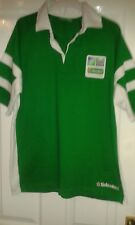 Mens Rugby Union Shirt - IRB Rugby World Cup 2007 - Polo Shirt - Heineken - L