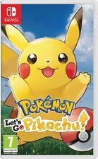 Pokemon Lets Go, Pikachu ! Nintendo Switch Spiel *NEU OVP*