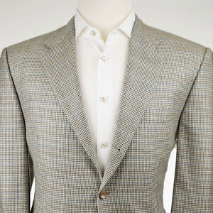 NEW $2095 Hickey Freeman 'Madison' Cashmere Cream Men's Sport Coat US 42S